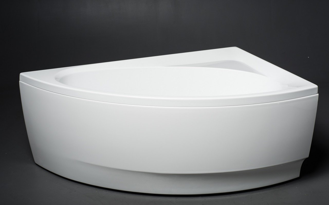 Aquatica Idea-L-Wht Corner Acrylic Bathtub