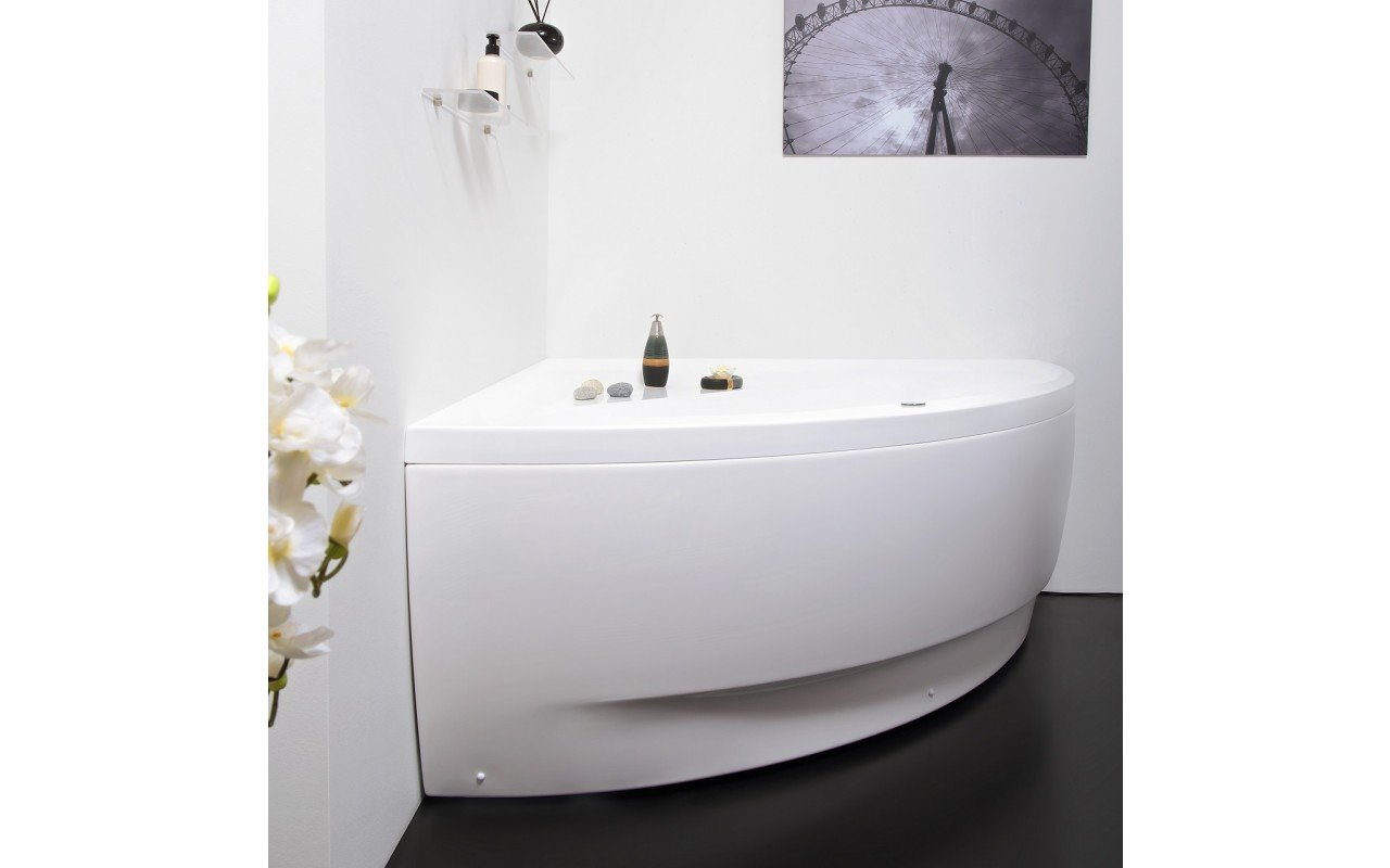 Aquatica Olivia-Wht Relax Air Massage Bathtub