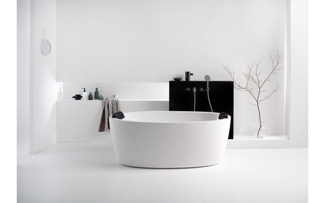 Aquatica Comfort Bath Headrest Black